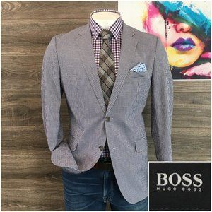 Hugo Boss The Jam2 Men's Sport Coat 42R 2-Button